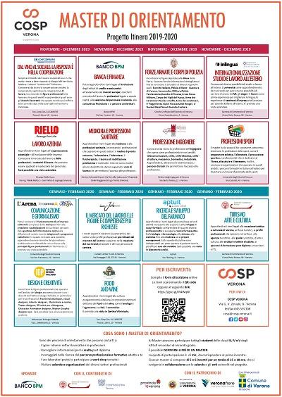 Ripartono i Master di orientamento! - Itinera 2019-2020
